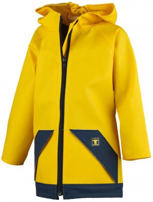 Veste enfant echo jaune GUY COTTEN