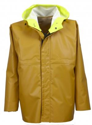 Veste ciré ISOCLAS étanche Tissu Classic jaune GUY COTTEN
